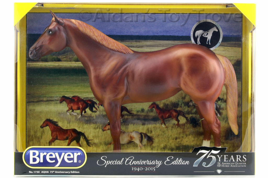 Breyer 1730 75th Anniversary American Quarter Horse Chestnut