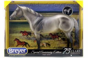 Breyer 1730 75th Anniversary Americcan Quarter Horse Grulla