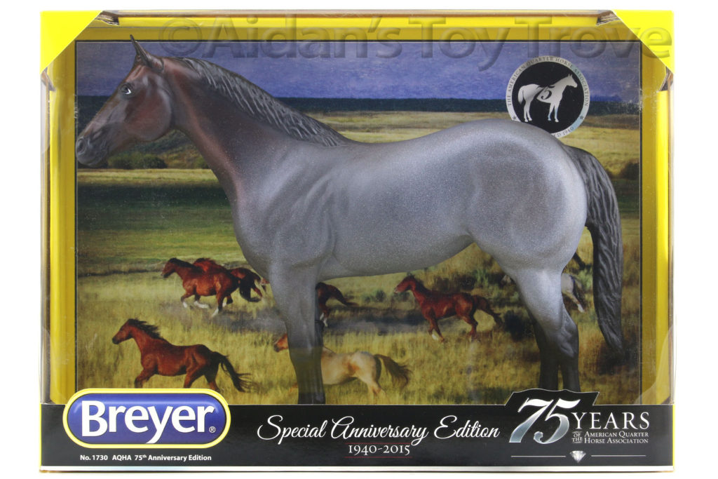 Aqha 75th Anniversary Rare Bay Roan Ideal Qh Nib 1730