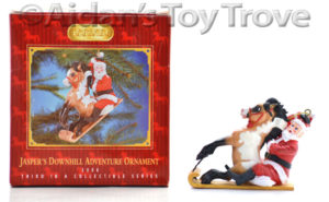 Breyer Ornament Jasper's Downhill Adventure 700706