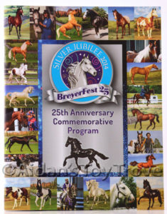 BreyerFest 2014 Silver Anniversary Commemorative Program - Full Color