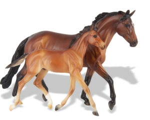 Breyer 1474 GG Valentine and Heartbreaker Matte