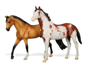 Breyer Mancha and Gato