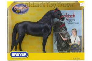 Breyer 1288 Black Jack and Book Set