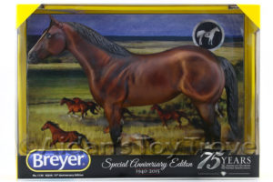 Breyer 1730 75th Anniversary American Quarter Horse Bay With Eyewhites