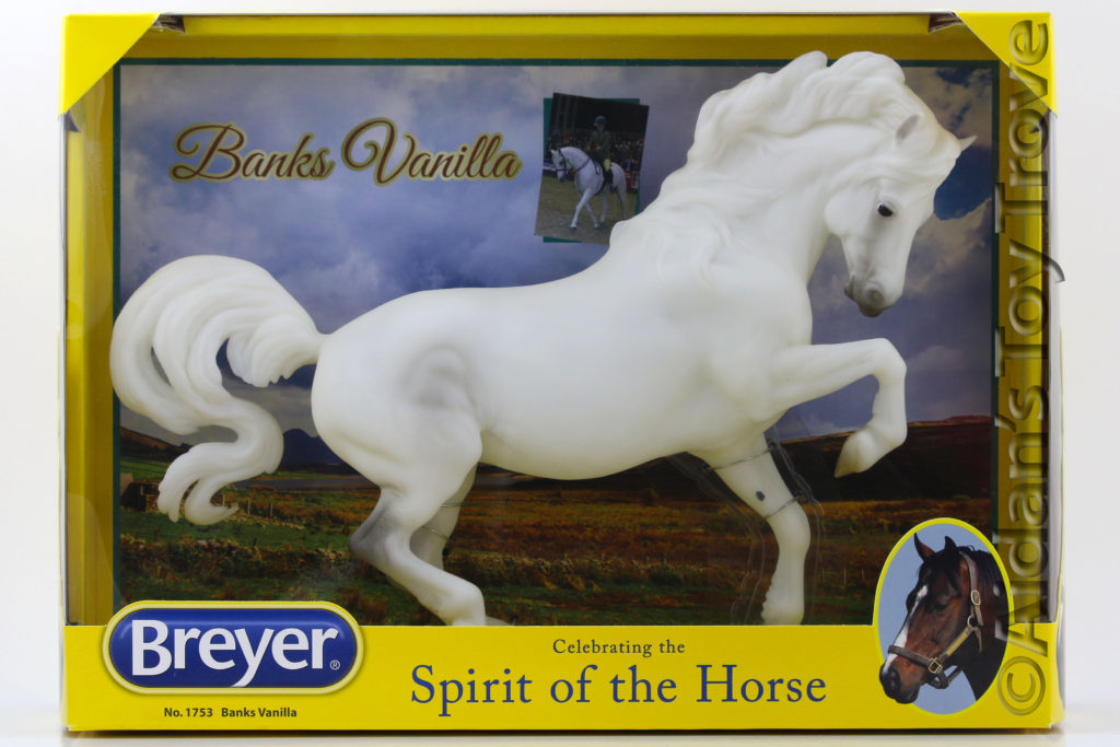 Breyer Banks Vanilla 1753