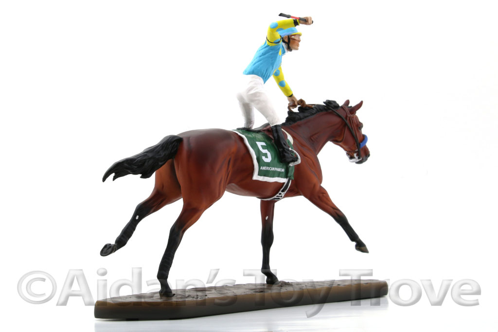 Breyer American Pharoah Resin 9180