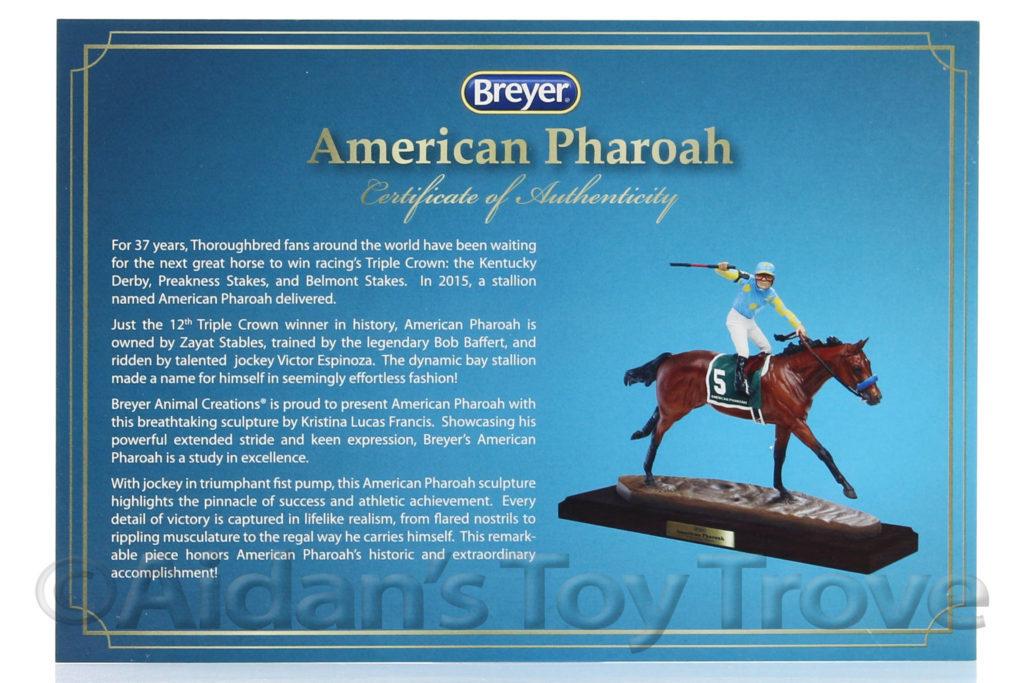 American Pharoah Resin 9180