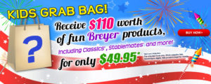 Breyer 2016 Fourth of July Grab Bag