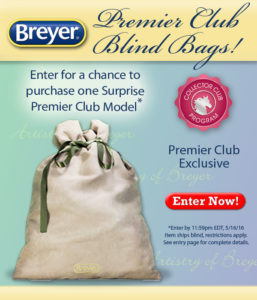 Breyer Premier Club Blind Bag 2016
