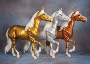 BreyerFest Silent Auction Lot 9 Mangalarga Marchador Trio