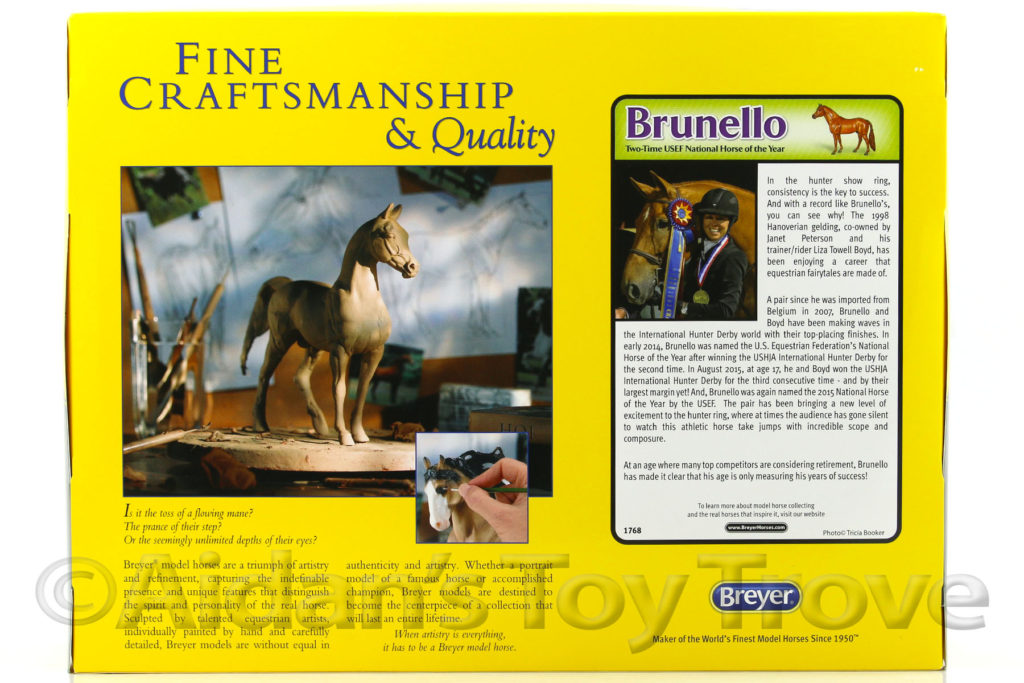 Breyer Brunello 1768 Tyron Tack