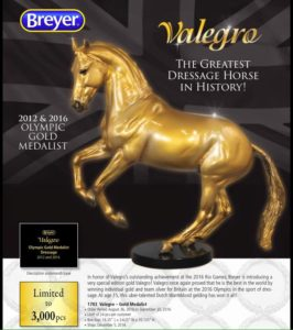 Breyer 1783 Gold Valegro