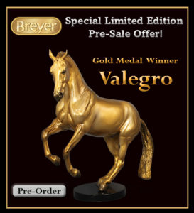 Breyer1783 Gold Valegro