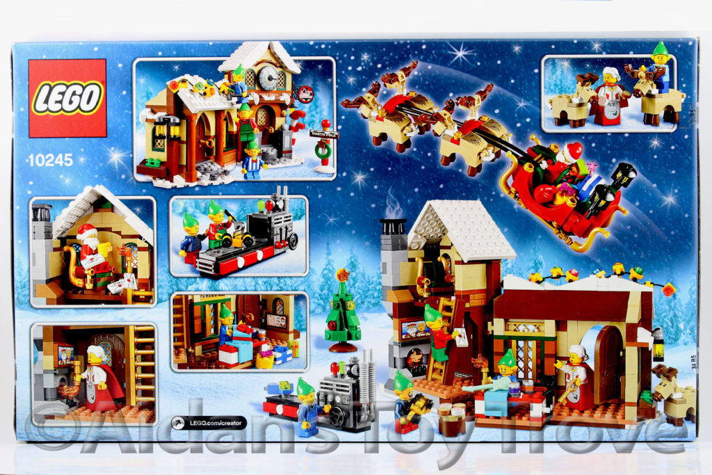 LEGO Creator Santa's Workshop 10245 - 2015 Holiday Season