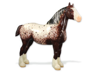 Breyer Collector's Club Test Color Clydedale Mare