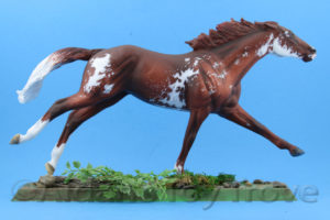 Breyer Custom Ruffian Unknown Artist
