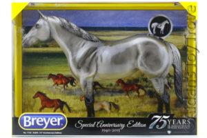 Breyer 1730 AQHA 75th Anniversary Glossy Grulla