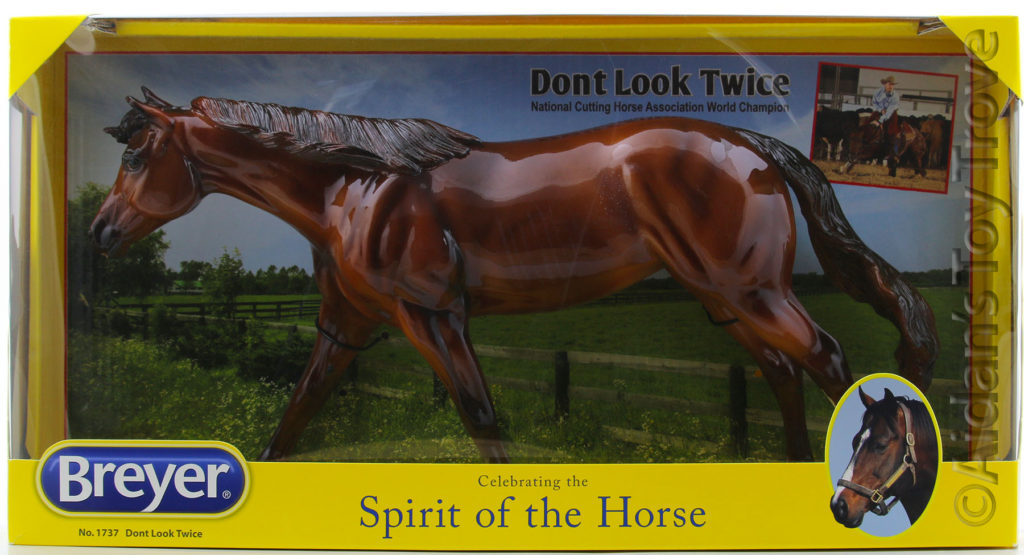 Breyer Don't Look Twice Glossy 1737