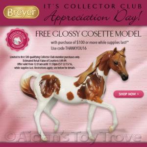 Breyer Glossy Cosette