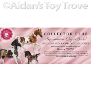 Breyer Glossy Julian and Sophia Promotion