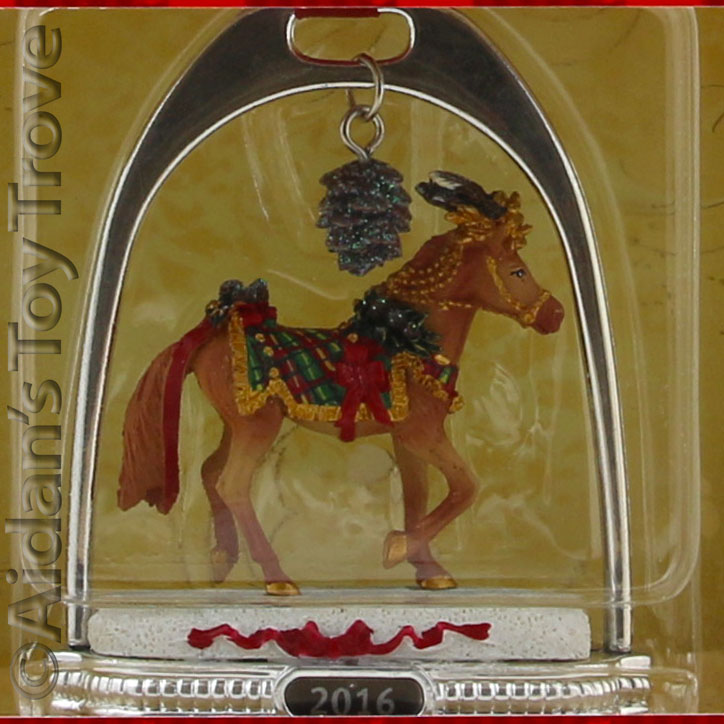 Breyer 2016 Holiday Woodland Splendor Stirrup Ornament 700317