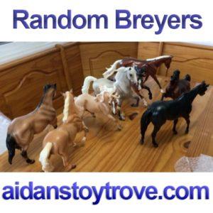 Random Breyers Inventory Box