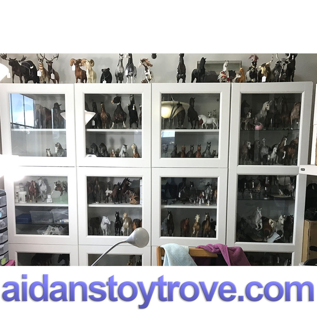 Breyer Horse Collection Tour Well Not Quite Aidan S Toy Trove