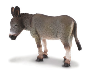 Corral Pals Grey Donkey 88115