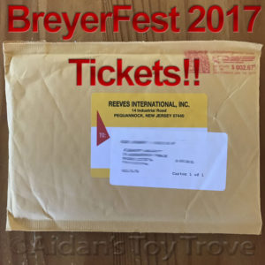 2017 BreyerFest Tickets
