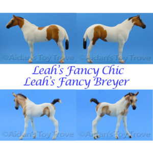 Breyer Leah's Fancy Chick and Leah's Fancy Breyer