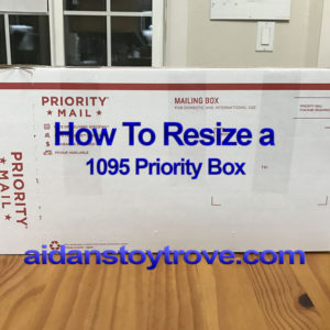 How To Resize a 1095 Priority Box