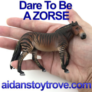 Breyer Custom Zorse By Franceyn Dare