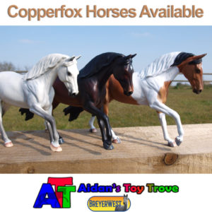 Copperfox Horses available at BreyerWest 2017