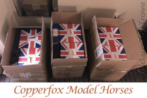 Copperfox Model Horses Shipping Boxes