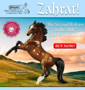 Breyer Stablemate Club Zahrat