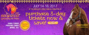 BreyerFest 2017 TIckets