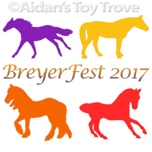 BreyerFest 2017 Single Day Stablemates