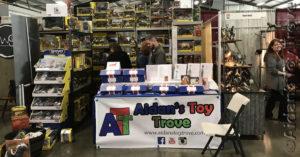 BreyerWest 2017 Aidan's Toy Trove Sales Booth