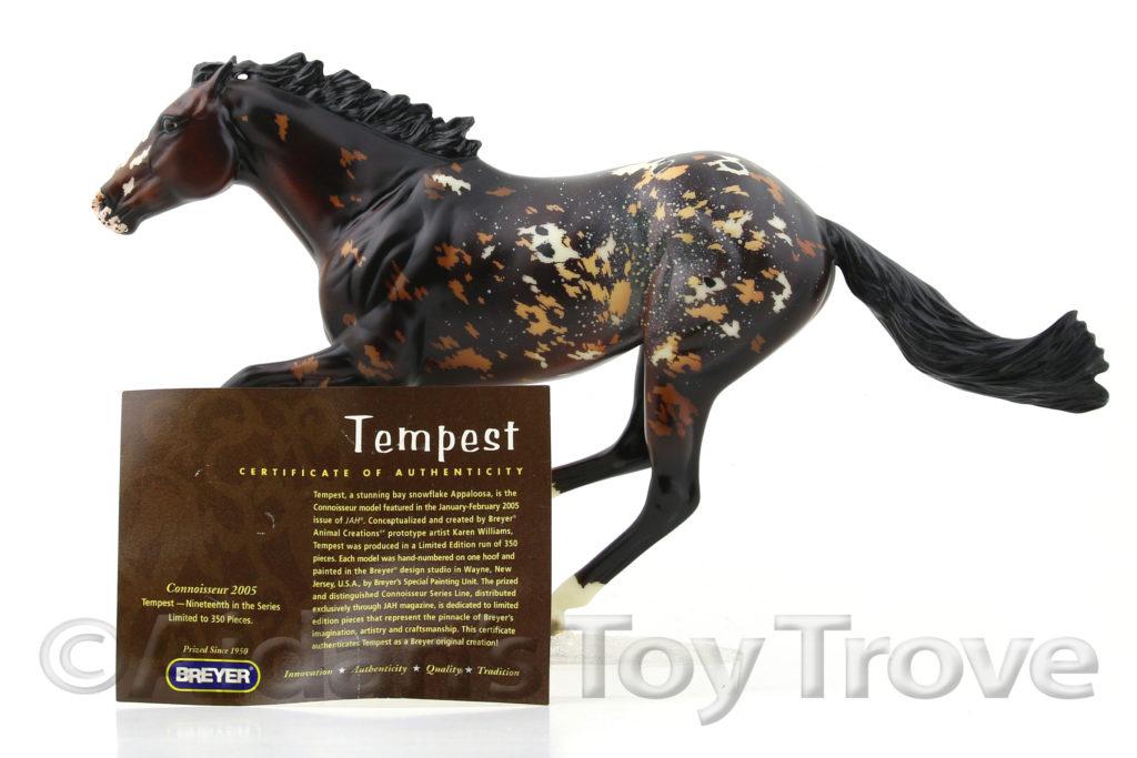 Breyer Tempest 90131 Connoiseeur
