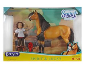 Breyer 9203 Spirit and Lucky Gift Set