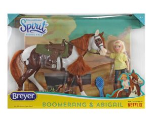 Breyer 9204 Boomerang and Abigail Gift Set