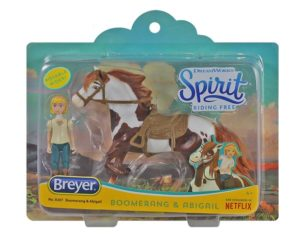 Breyer 9207 Boomerang and Abigail Small Set