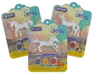 Breyer 9258 Spirit Paint and Play 3 Piece Assortment