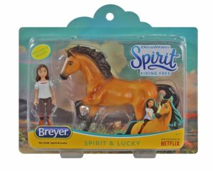 Breyer 9206 Spirit and Lucky Small Set