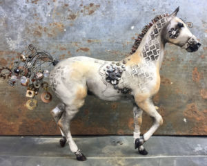 Breyer Custom Steampunk Lonesome Glory by Elayne Watrus