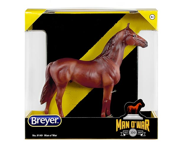 Breyer Man O' War 9149