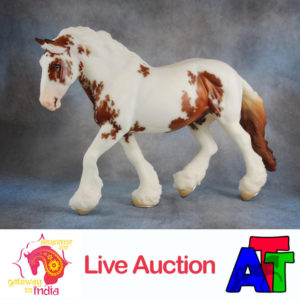 Breyer Chestnut Pinto Shannondell BreyerFest 2017 Live Auction Lot