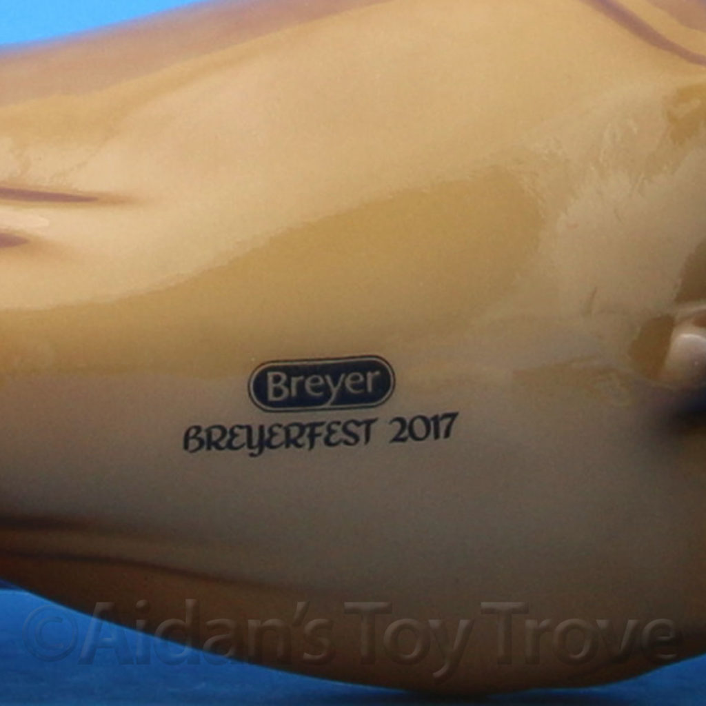 Breyer Saffron Glossy 711260 BreyerFest 2017 Geronimo