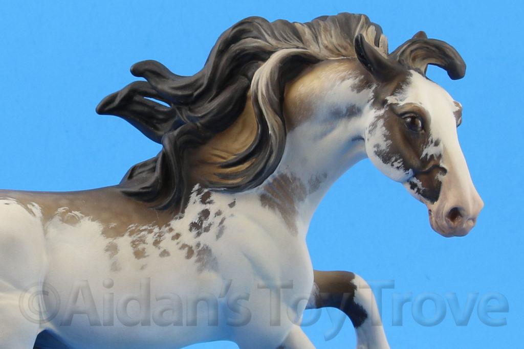 Breyer Custom Nokota by Kate Schick